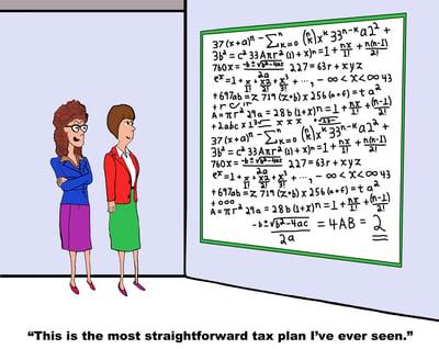 Funny Tax Formula
