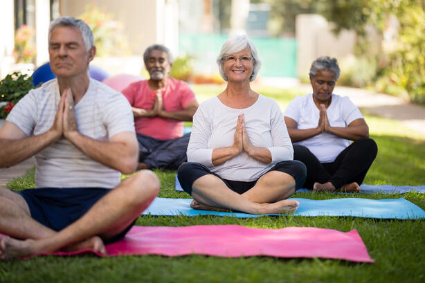 Yoga at CCRC